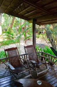 1. bamboo bungalow porch