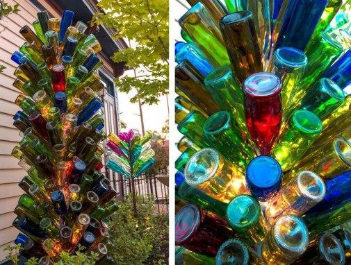 Árbol de botellas