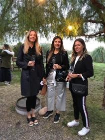 Eliana Martín, Emilse Bengoa y Laura Puga