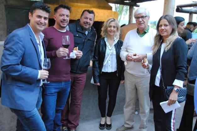 FGR, Claudio Giménez, Tito Bacchochi, Analia Mammoli, Andrés García y Laura Puga