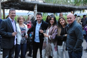 José Luis Saldaña, Alejandra Pizzolato Helvio Elizondo, Érica Vicario, Emilse Bengoa y Carlos Vallejo