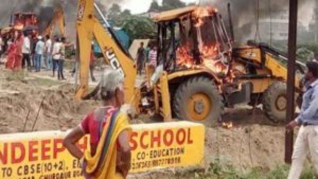 Public Interrupting the Traffic in Rajiv Nagar   The Bihar News