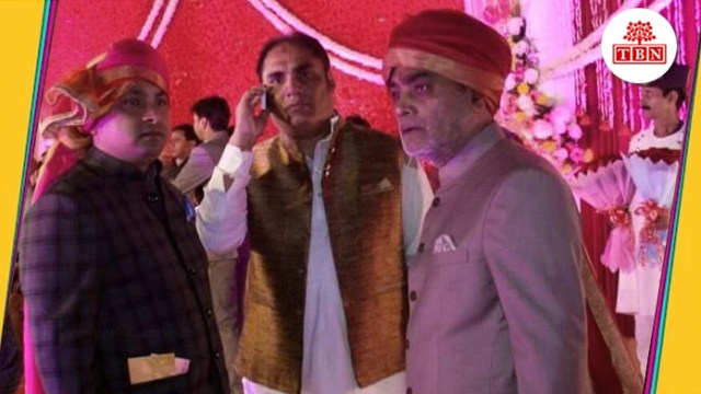 thebiharnews-in-central-minister-ram-kripal-yadav-son-marriage-ceremony-ramkirpaal-in-patna