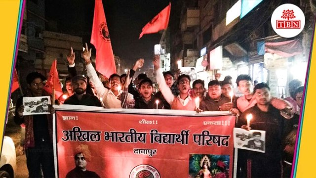 bihar-hindi-news-tbn-patna-ABVP-Danapur-has-organized-a-candil-march-the-bihar-news