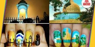 Patna in Nail art by rajni-The-Bihar-News