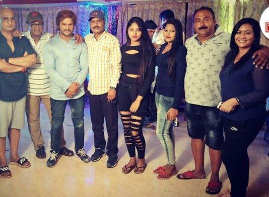 khesari-lal-yadav-started-shooting-film-meri-jung-mera-faisla-the-bihar-news-tbn-patna-bihar-hindi-news