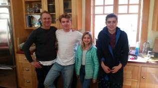 John and his kids.