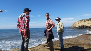 Louis, Trevor and me, San Diego.