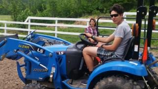 Tractor boy.