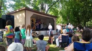 Bluff Mountain Music festival.