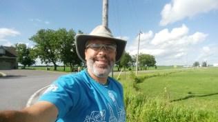Selfie on the bike path.