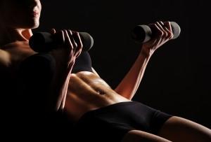 Weight Lifting Bikini Body