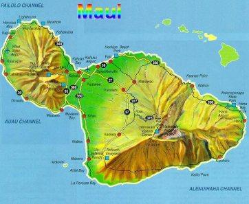 Map Of maui