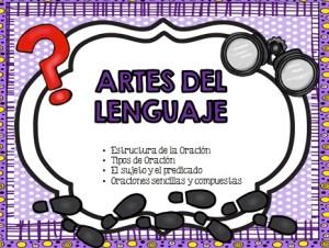 Language Arts in Spanish cover