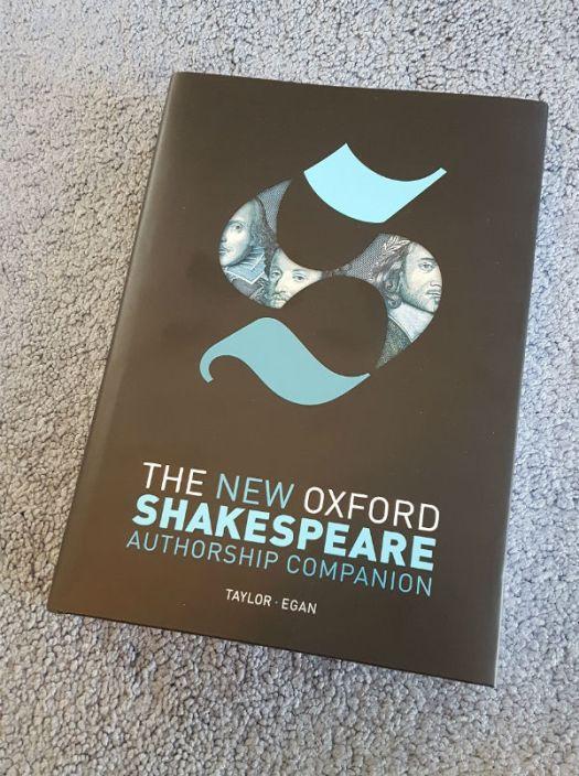 The New Oxford Shakespeare: Authorship Companion