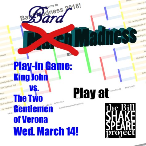 March Madness, nah… give me some BARD MADNESS!!! shakespeare news The Shakespeare Standard theshakespearestandard.com shakespeare plays list play shakespeare