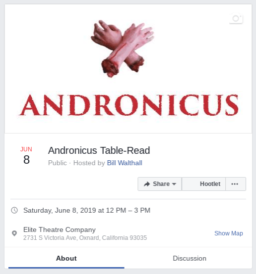 Andronicus Table-Read June 8