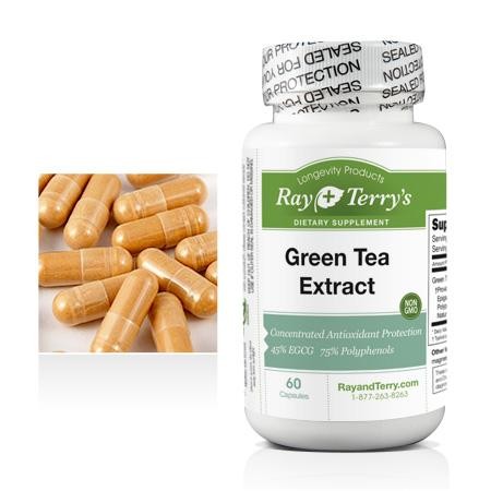 Green Tea Extract Ray and Terry's