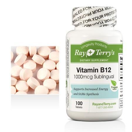 Vitamin B-12, Sublingual