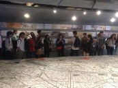 Students visit the Pavillon de l'Arsenale Urbanism Museum