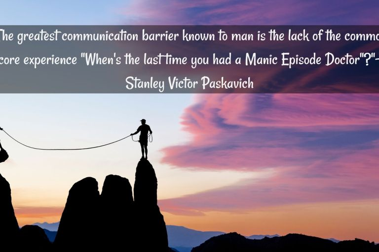 Bipolar quote by Stanley Victor Paskavich