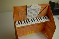 Piano Origami Art Activity