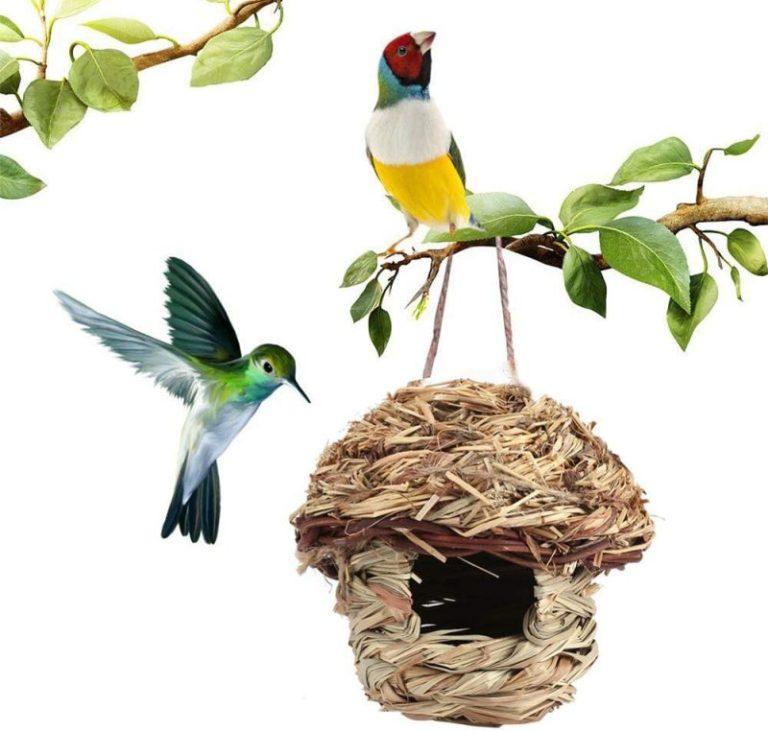 Hamiledyi Woven Bird Houses