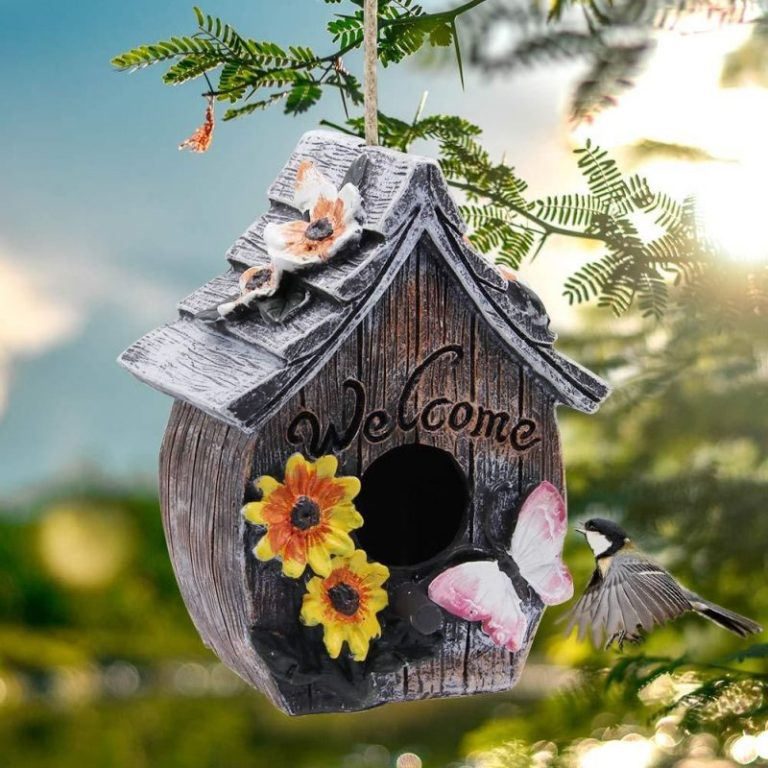 MorTime Wood Bird House