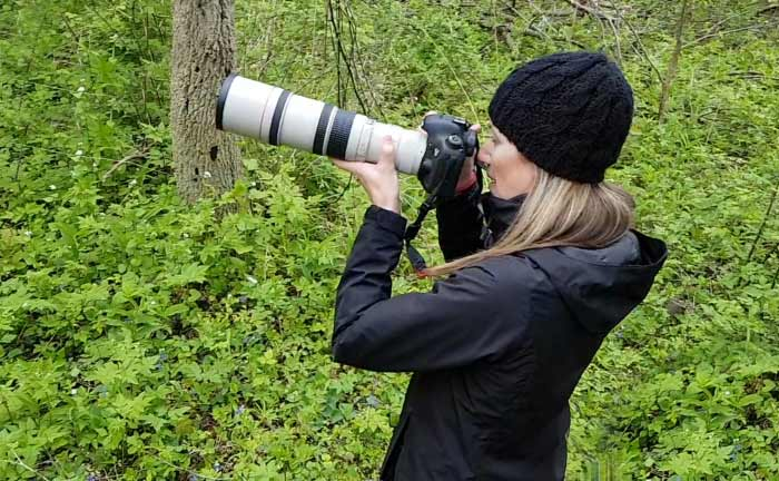 Bird Photography with a 400 camera lens