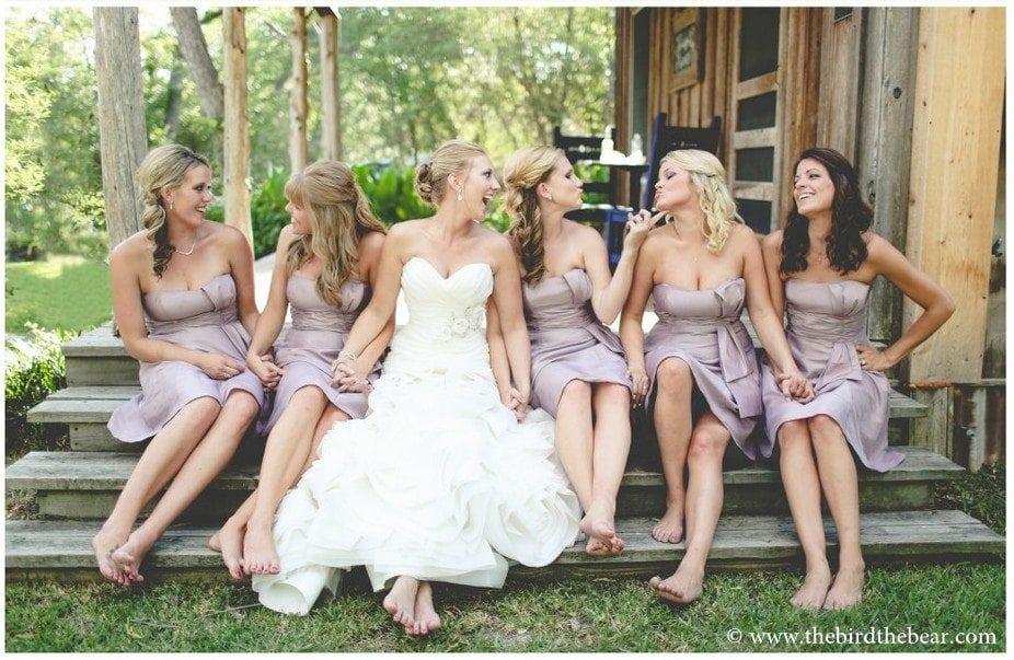 10 Fun Bridesmaids Poses by The Bird and The Bear Photography
