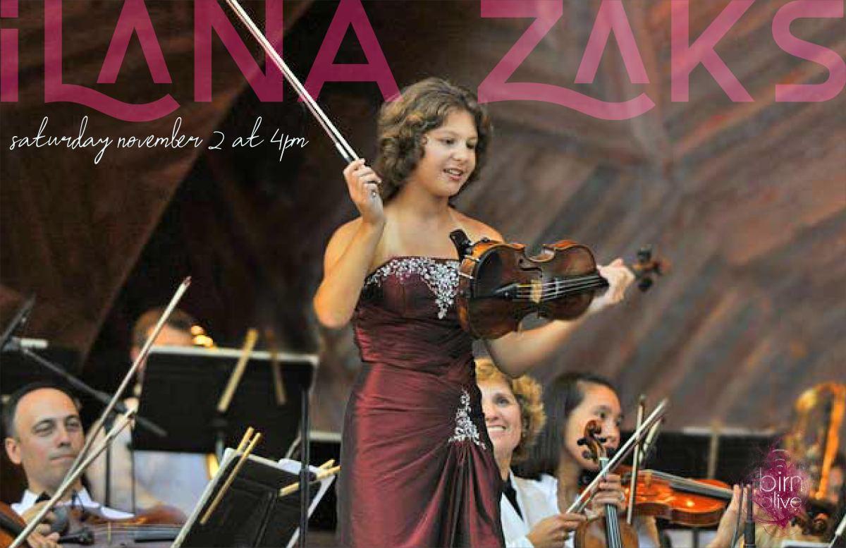 Ilana Zaks plays BIRN Alive