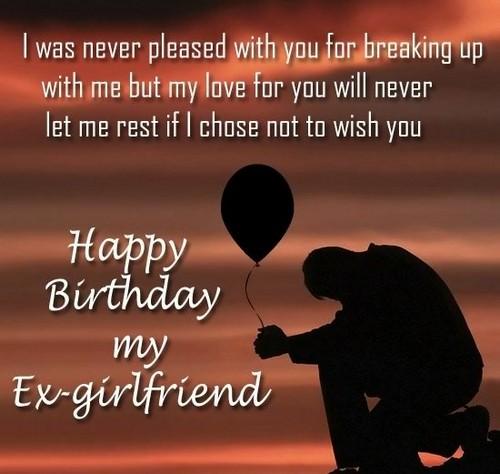emotional birthday wishes for ex gf girlfriend