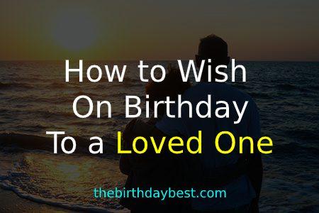 How to Wish on Birthday