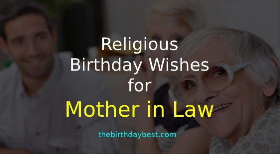 religious birthday wishes for mother in law