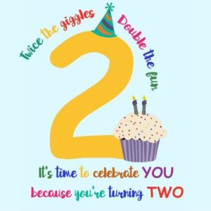 Happy Birthday Wishes for 2 year old
