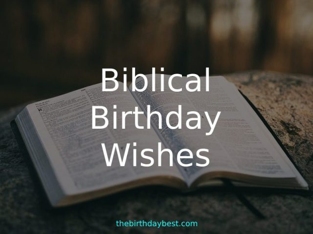 Biblical Birthday Wishes