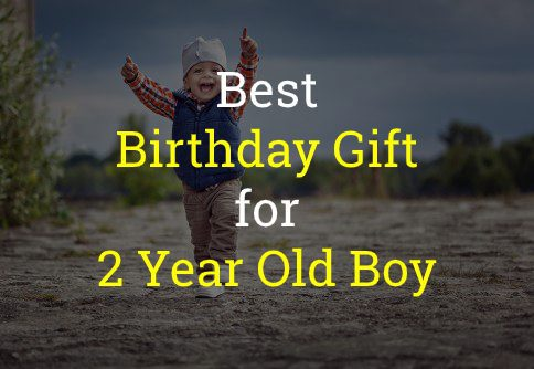Best Birthday Gift for 2 Year Old Boy