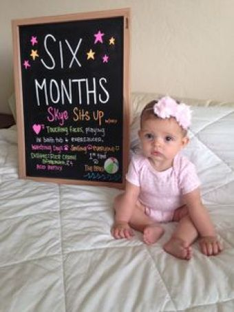 Happy 6 Month Old