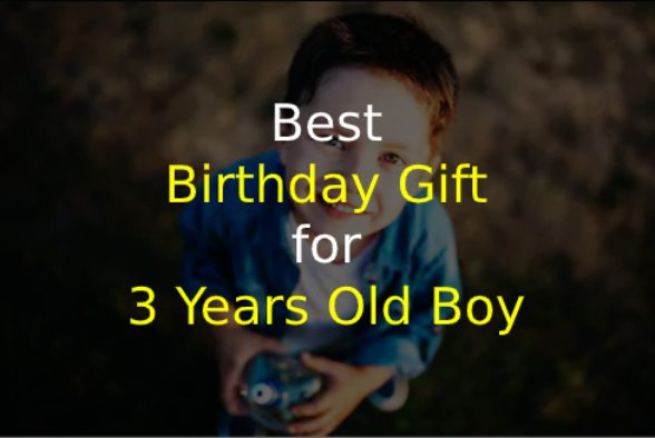 Birthday Gift for 3 Years Old Boy