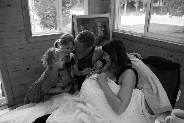 """Jen Loves Kev"" Shares Her Birth Stories"