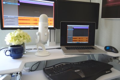 Podcasting Work Station and Workflow
