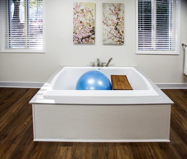 birth center tub
