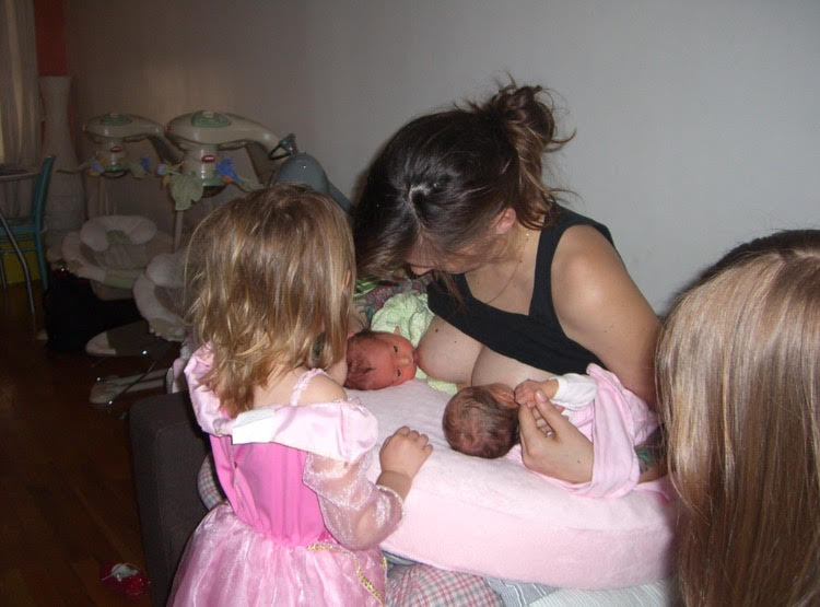 Four Birth Stories Including Two Sets of Twins