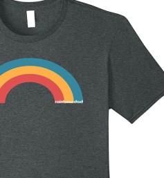 rainbow dad tee