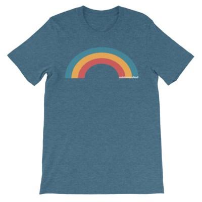 Rainbow Dad Tee (15+ colors)