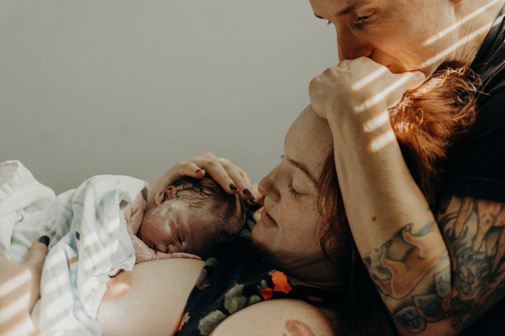 TTC as a Queer Couple & Homebirth Birth Story