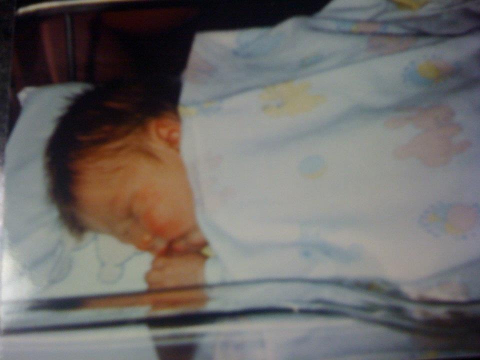 bryn as a baby