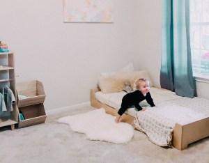 montessori room design baby