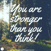 The Birthing Journey Birth Affirmation You Are Stronger Than You Think