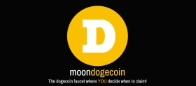 Moon Dogecoin faucet